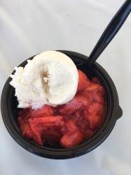 Strawberry fair goodness!