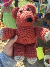 the girls got me a $2 bear as well...