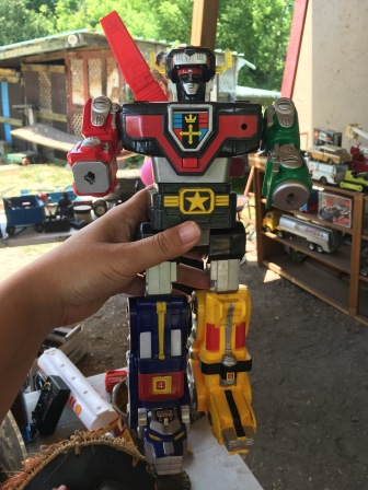 I would have bought this but its missing some heads, swords and a back wing thing (I love GO Lion/Voltron stuff)
