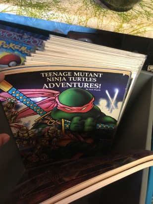 very interesting find of TMNT DnD books