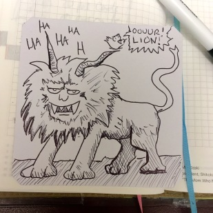 Thanks to irl Pjoxt for the image of the Dank Lion that I missed so this could happen