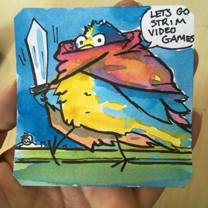 Bird Sim RPG Adventure!