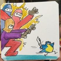 Avoiding bad guys in The Super Spy