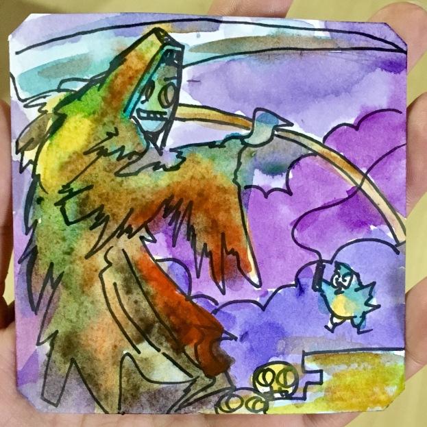 Death Akumajou Dracula- Macaw