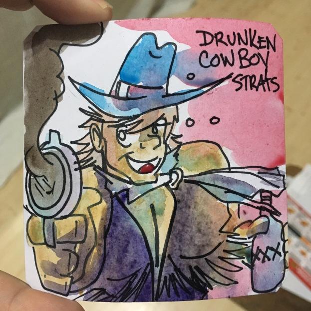 Drunken Cowboy Blood Bros- BBH