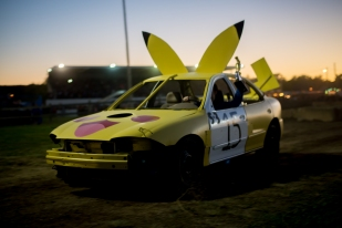 Pikachu car is a winner!!