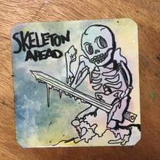 Skeleton ahead