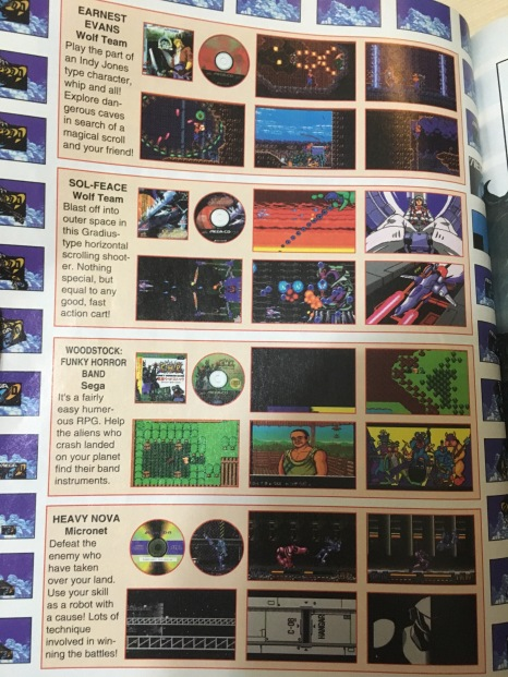 Electronic Games Weekly teasing me with JP only games for the Sega CD back in the day