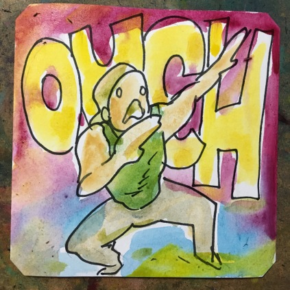 Ouch! Trio the Punch runs by @ZakkyTheHybrid
