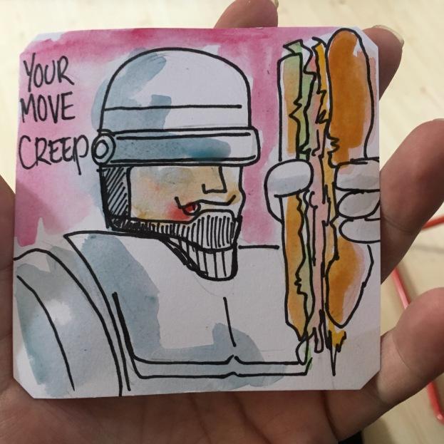Your move creep!Robocop 2 by Jimmyqballs