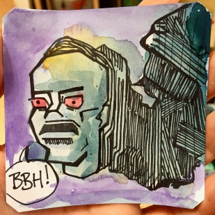 """The """"Creative"""" segment in tonight's stream with I, Robot & @LordBBH"""