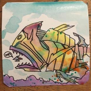 Darius Gaiden Fish n Blips