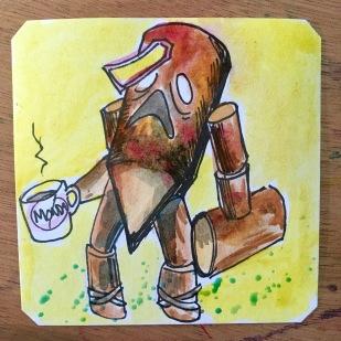 Little Wooden Boy yells Spooooon! Knights of Valour 2 @TheRealPasky