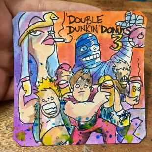 Dunkin Donuts 3: The Roti Sandwich Lunch @LordBBH