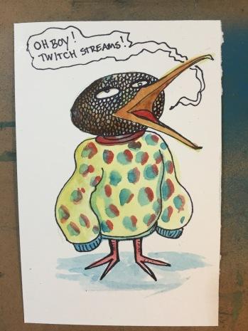 Sinboid wearing Puri Sweater