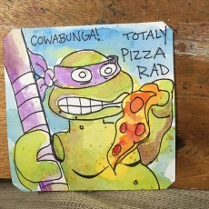 COWABUNGA ITS PIZZA TIME!! TMNT @LordBBH
