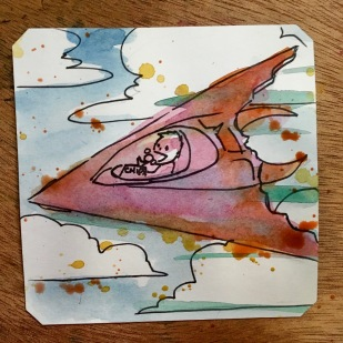 Eating chips & flying Grid Seeker: Project Storm Hammer @LordBBH