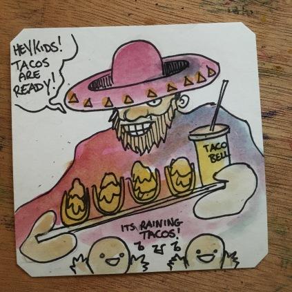 It's raining tacos in Sunset Riders @LordBBH