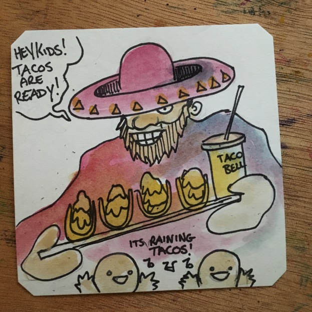 It's raining tacos in Sunset Riders @LordBBH