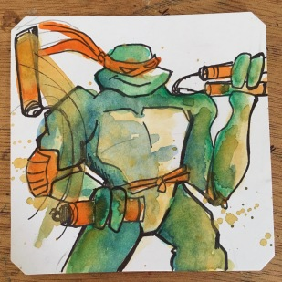 TMNT III: The Manhattan Project for the NES @Macaw45