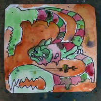 Psychedelic Scorpion @LordBBH