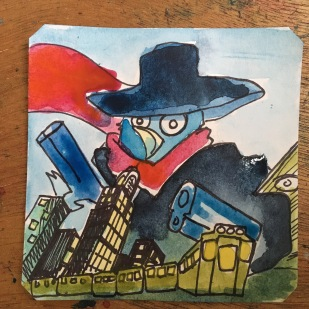 Who knows what evil lurks in this prototype SNES game? The Shadow knows! @Macaw45