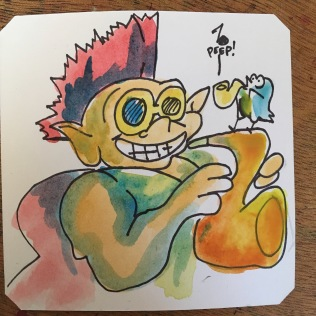 Let's jam! Stone Protectors on SNES @Macaw45