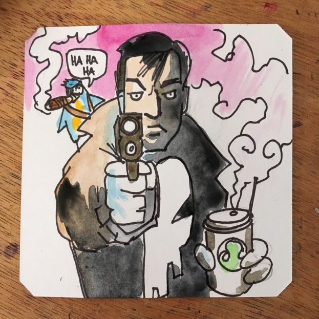 Get Punished! Punisher Arcade @Macaw45