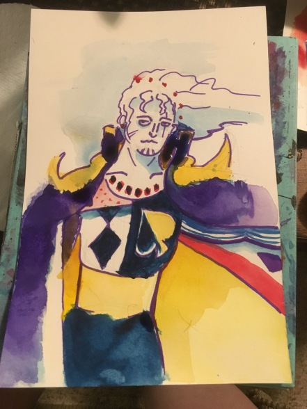 Reccanti painted me Setzer from FF6 <3