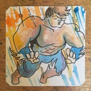 Blazing Tornado just dropping on it! @LordBBH