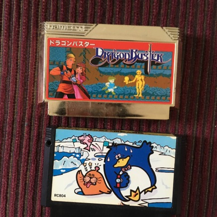 Cute and Dank Famicom games