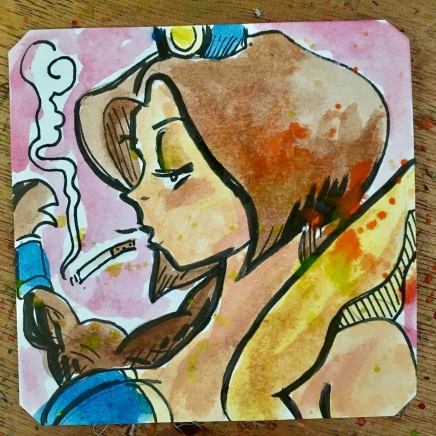 Smoking Yagumo in Kabuki Klash @LordBBH