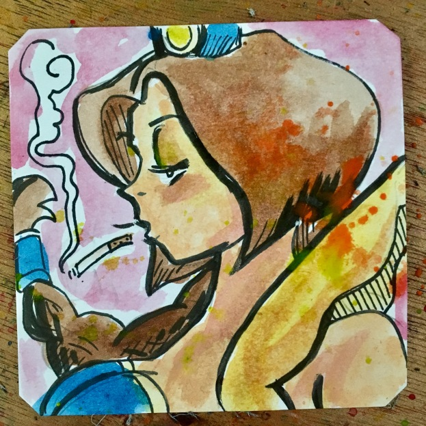 Smoking Yagumo in Kabuki Klash @LordBBH