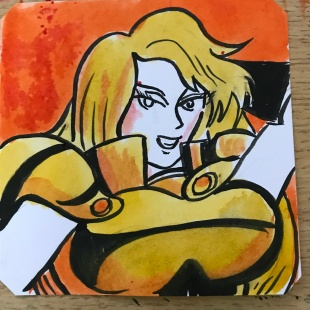 Janne in World Hero's 2 @LordBBH
