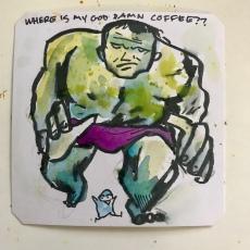 The Incredible Hulk SNES @Macaw45