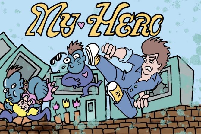 My Hero on arcade