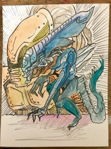 Alens vs Predator SNES